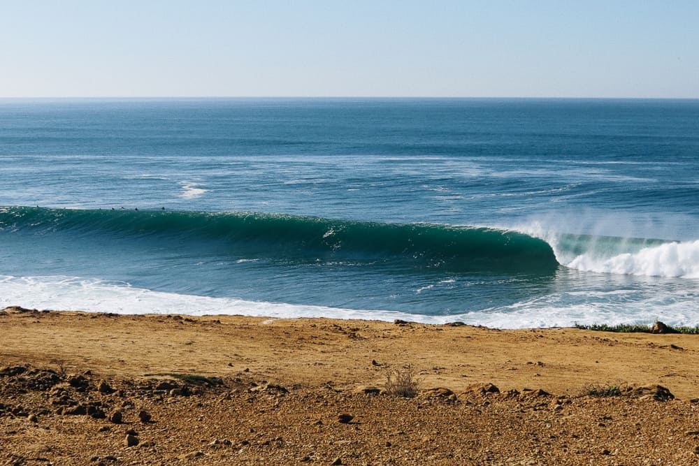 Coxos is de best wave in Portugal for a reason