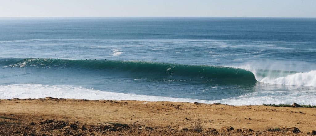 Coxos in Ericeira is one of the best waves in Europe