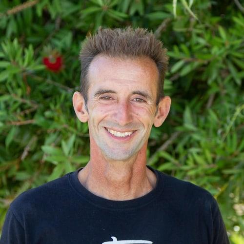 Sansao, one of the surf teachers